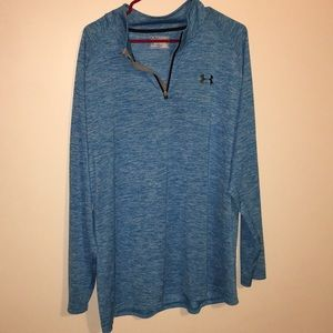 2 XL Light Blue Mens Pullover!! Under Armour!!